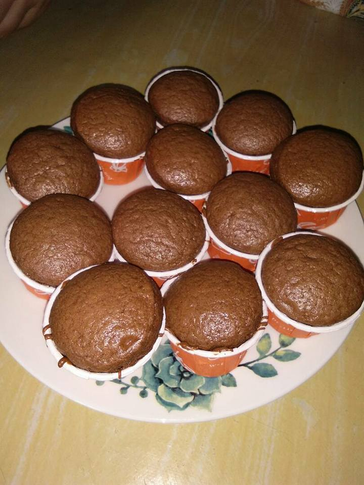 resepi cupcake milo