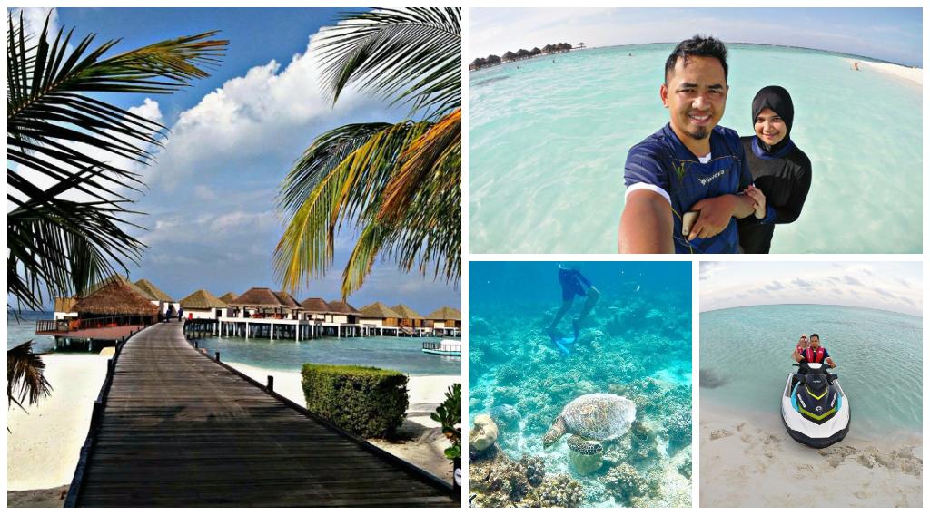 tips bercuti di maldives