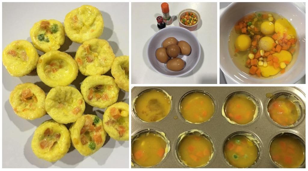 resipi egg muffin
