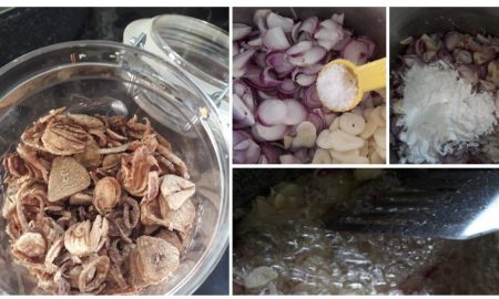 cara membuat bawang goreng