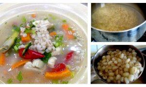 resepi sup barli